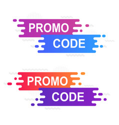 coupon sticker for sales promo code banner on a vector image