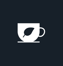 Cup icon simple vector