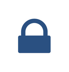 lock padlock password private secure icon vector image