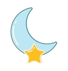 Moon month vector