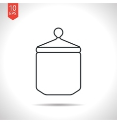 Outline icon vector