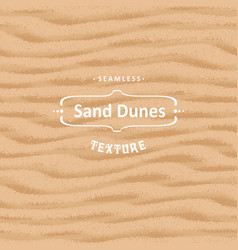 Seamless sand texture background with natural vector