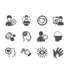 Set people icons such as engineering romantic vector