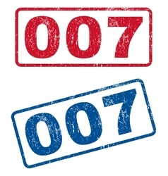 007 Rubber Stamps vector