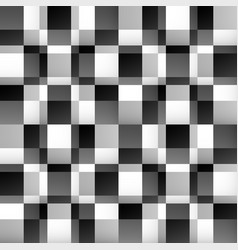 abstract mosaic pattern with fade effect vector image