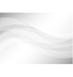 abstract soft gray background vector image
