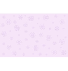 Christmas in gentle pink tones vector image