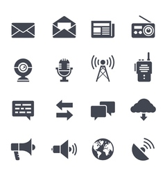 Communication icon vector