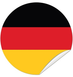 German flag vector image