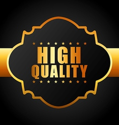High quality vector