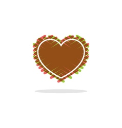 Love heart logo and icon vector