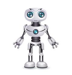 robot technology mechanical artificial vector image