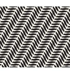 Seamless Black and White Geometric Diagonal vector image