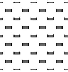Stone fence pattern vector