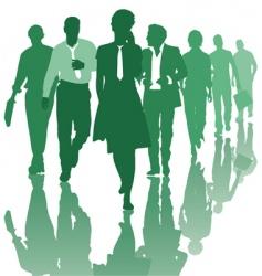 Teamwork people business team vector