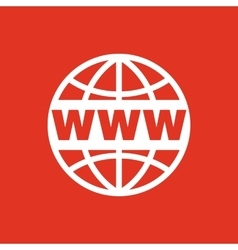 The WWW icon SEO and browser development www vector