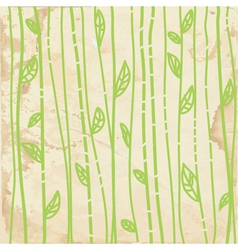 Leaves graphic seamless pattern vector image vector image