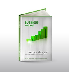 Book Layout vector image