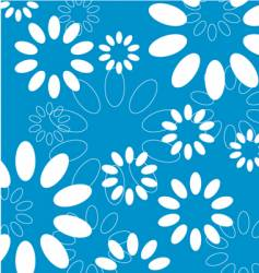 floral seamleass vector image