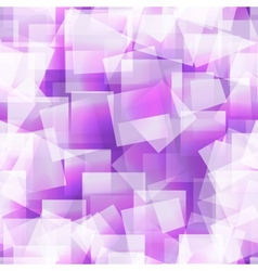 Abstract square seamless purple background vector image