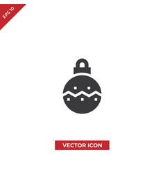 bauble icon vector image