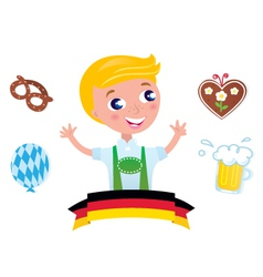 Bavarian octoberfest vector