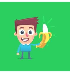 Bright life with bananas vector