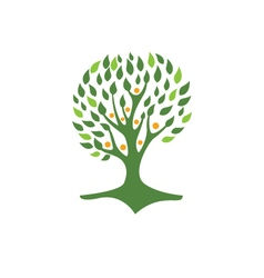 Eco Tree Logo Template vector