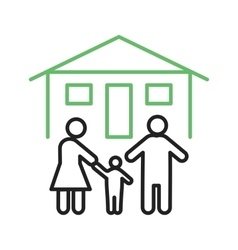 Family Home vector