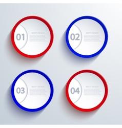 modern infographic element design vector image