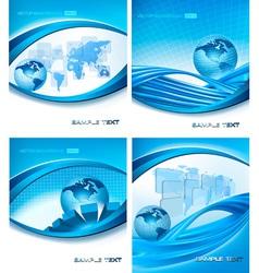 programming globe vector image