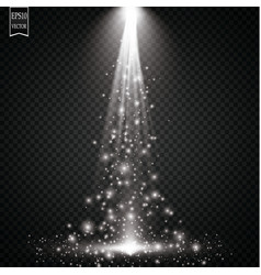 sparks and stars glitter special light effect vector image
