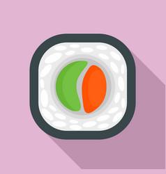 tai sushi icon flat style vector image