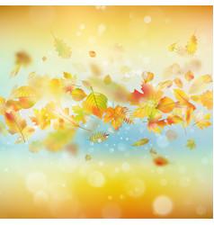 Autumn festive background eps 10 vector