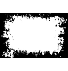 Grunge painted border for your designs vector image vector image