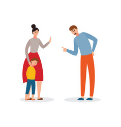 A family conflict vector