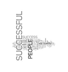 A recipe for success text word cloud concept vector