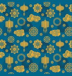 Asian decoration chinese and japanese vector