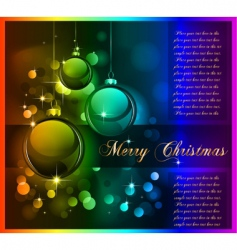 Christmas graphic vector image vector image