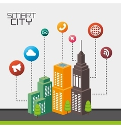 City smart design vector