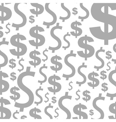 Dollar a background vector image vector image