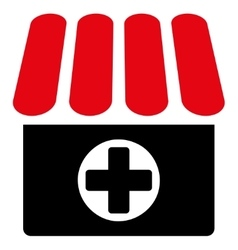 Drugstore icon from Business Bicolor Set vector