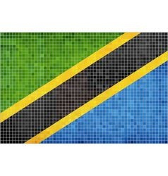 Flag of Tanzania vector