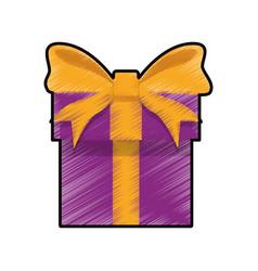 gift box present vector image