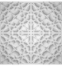 Islamic seamless pattern with stars vector