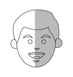 Isolated man design vector