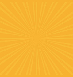 retro sunburst background centric yellow p vector image