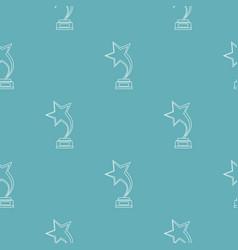 Star award pattern seamless vector