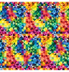 Seamless abstract pattern background vector image