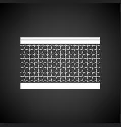 tennis net icon vector image
